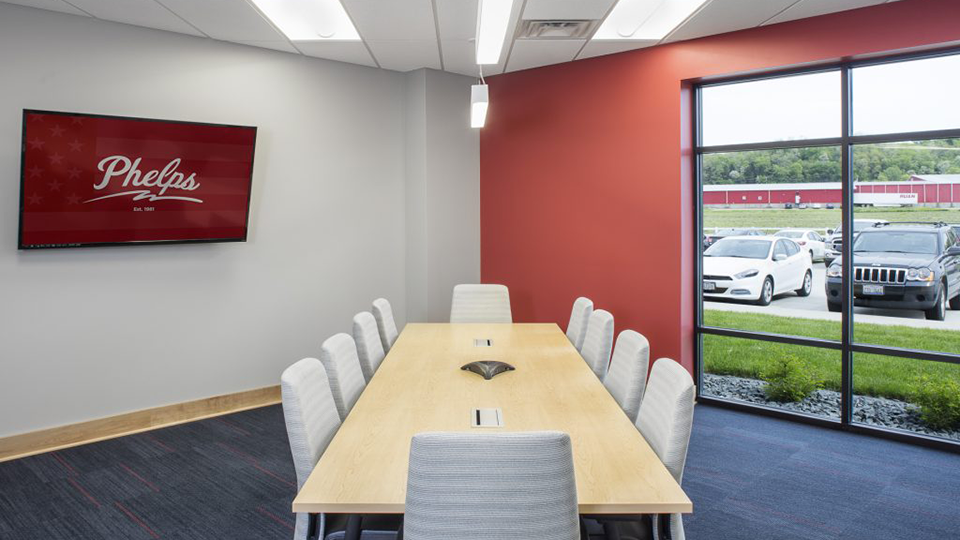 Commercial Office Large Board Room